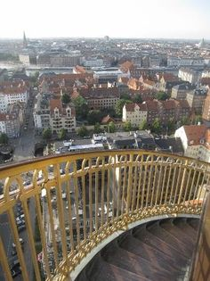 View from Vor Frelsers Kirke - Christianshavn, København, Denmark
