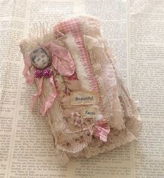 sweet little fabric book by yitte