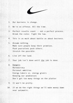 nikes marketing principles The content marketing book of answers: strategy & planning 3 nike – bring  great customer service to social media nike if you're looking for.
