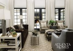 Sophisticated mountain Retreat by designer Amy Morris | Interior Design Files