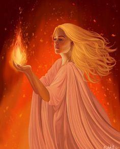 Aelin , fire-breathing Queen