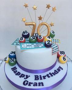 Bingo! #bingo #bingocake #cakesofinstagram #cakesofinsta #glasgowbaker #kakekaren #bingocards #bingoballs #70 #birthday #birthdaycake #cakestagram #cakesofig #cake #cakes #celebrationcake