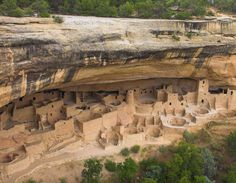 Mesa Verde National Park Cliff Palace Who says the Ancestral Puebloneans  (a.k.a. Anasazi) were primitive?  The evidence I saw during my short visit to Mesa Verde convinced me they were pretty advanced.