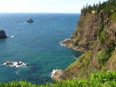 Oregon. Where the trees meet the seas
