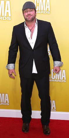 Lee Brice. Looks like he's ready for a bar brawl.