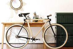 Stadtrad aus Holz