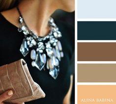Colores cálidos y elegantes