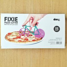 Kitchen Tools: Bicycle Pizza Cutter  - adds to any dinner conversation!