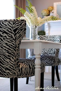 chairs purchased at TJMaxx via Dear Lillie blog
