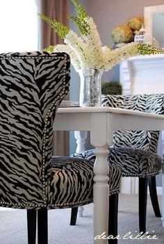 chairs purchased at TJMaxx via Dear Lillie blog