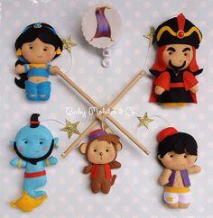 Aladdin Mobile Baby Mobile Baby Felt Mobile Hanging Cot