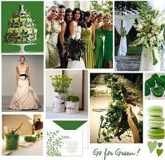 http://centrosdemesaparaboda.com/decoracion-de-bodas-en-color-verde/ #decoraciondeboda