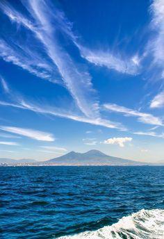 Mt Vesuvius & the Gulf of Naples  Follow Vesuvio and share the page!!  #naples #napoli #vesuvio #pompei #vesuvius #mountvesuvius #faunopompei #volcano #mountain #italy #italia #travel #followme   www.facebook.com/ScavidiPompei - www.instagram.com/pompeiiruins - www.twitter.com/pompeiiruins