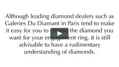 http://www.gdparis.com - Galeries du Diamant is the intelligent new way to buy a diamond in Paris. For three generations we have been a family business with one goal : to work with the world's best diamonds.