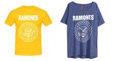 Un must de temporada la camiseta de Los Ramones. Imagen de H y de camisetasmdr.com. Descubre dónde encontrarlas en destaca-te.com