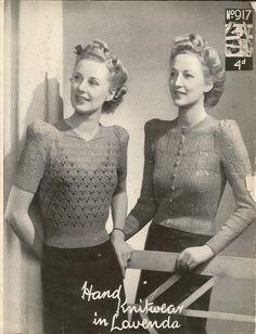 1940's sweaters