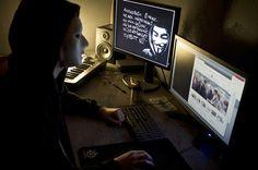 CNA: Anonymous revela 40 sitios web de ISIS protegidos por una Firma Tecnológica de EEUU