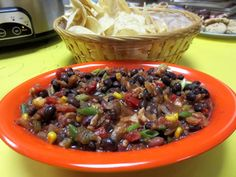 Quick & Easy Salsa-Style Dip  Need a tastes dip in a hurry! Try this recipe - so good!
