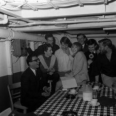 Marianne Faithfull on the 1965 Radio Caroline  pirate ship