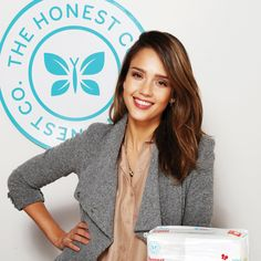 "Actress and Co-founder of ""The Honest Company"" Jessica Alba"