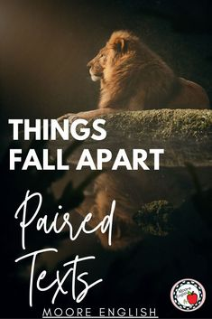 Things Fall Apart is truly one of my favorite novels to teach, and in an effort to help more teachers use this novel, I've put together a bundle of my favorite paired text resources, including comprehension and analysis questions, listening guides, and synthesis writing prompts. This collection of paired texts, including poems, informational texts, nonfiction texts, and listening activities helps students synthesize across texts, making connections, and finding themes and main ideas! Crash Course Literature, Ap Literature, Informational Texts, Nonfiction, Writing Resources, Writing Prompts, Improve Reading Comprehension, Chinua Achebe, Ap Language