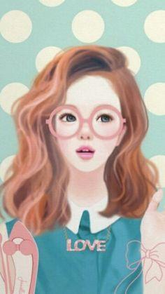 Preppy look-Jenniella illustration art print by Suran by Suranpark Cute Girl Drawing, Cute Drawings, Korean Illustration, Illustration Art, Beautiful Fantasy Art, Beautiful Dolls, Deviant Art, Tumblr Gril, Girly M