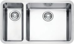 Buy Franke Kubus KBX 160 Right Hand Bowl Undermounted Kitchen Sink, Stainless Steel from our Kitchen Sinks range at John Lewis & Partners. Free Delivery on orders over Steel Kitchen Sink, Kitchen Sinks, Kitchen Appliances, Fast Furniture, Shower Taps, Kitchen Dining Living, Bowl Sink, Kitchen