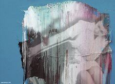 temporal extent - 2012 - andré schmucki - oil on canvas,   81cm x 110cm x 3cm