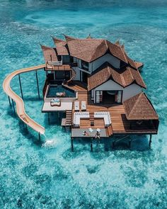 Who are you taking with you to this overwater resort in Maldives🤔🤔 ☀️ ☀️ ☀️ ☀️ ☀️ Tag a friend you… – transeunt-certifica Vacation Places, Dream Vacations, Honeymoon Destinations, Dream Vacation Spots, Vacation Rentals, Hotels And Resorts, Best Hotels, Luxury Hotels, Amazing Hotels