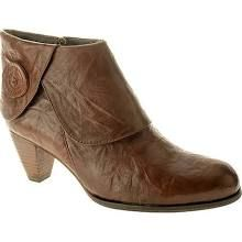 brown short boots - sometimes