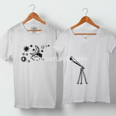 Finding My Star Planet Couple Tshirt size S to 5XL