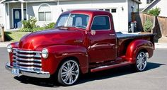 candy apple red vintage trucks | 1953 Chevy 5 Window Pick up Truck for $20,000 for Sale in Eagle Point ...
