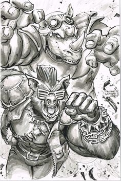 Bebop and Rocksteady by Freddie E. Williams