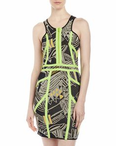 Techno Knit Racerback Dress by Cut25 by Yigal Azrouel. Very nice fit, good material. Don't be tardy for the party!