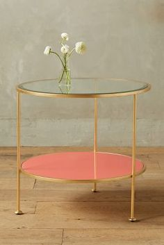 Lacquered Side Table - anthropologie.com #anthrofave