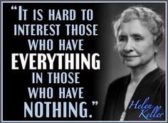 It is hard to interest those who have everything...