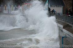 Storm waves in Newquay Newquay, Cornwall, Niagara Falls, Waves, Sea, Sunset, Nature, Naturaleza, The Ocean