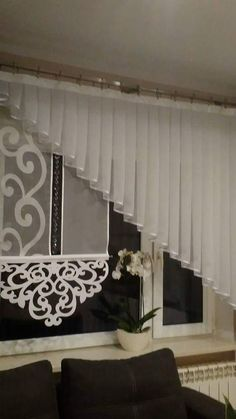 Curtains And Draperies, Drapery, Attic Conversion, Curtain Rods, Victorian Fashion, Window Treatments, Blinds, Windows, Interior Design