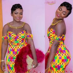 Look at these traditional african fashion 38375 African Print Clothing, African Print Dresses, African Fashion Dresses, African Attire, African Wear, African Dress, Fashion Outfits, African Outfits, African Prints