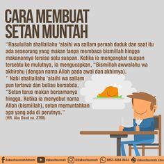 Jangan lupa baca doa!