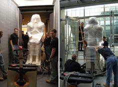 Catch this work of art handlers in Boston Art Handlers, Art Conservation, Art Storage, Museum Exhibition, Portable, Restoration, Artwork, Photos, Museums