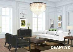 Composições de fotografias na decoração de ambientes