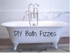 How to Make Homemade Bath Fizzies - So SIMPLE!!!