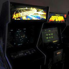 Asteroids& Defender #arcade games
