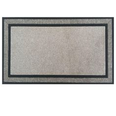 TrafficMASTER Racetrack Gray 18 in. x 30 in. Rubber Backed Door Mat-TH141103-20 - The Home Depot