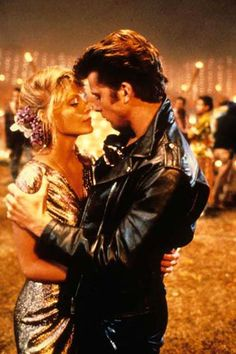 Pin for Later: The Best Movie Kisses of All Time Grease 2 They may not be Danny and Sandy, but Michael (Maxwell Caulfield) and Stephanie (Michelle Pfeiffer) have similar smoldering chemistry. Grease 2, Grease Movie, Grease The Musical, Grease 1978, Sandy Grease, Maxwell Caulfield, Michelle Pfeiffer, Grease Is The Word, Movie Kisses