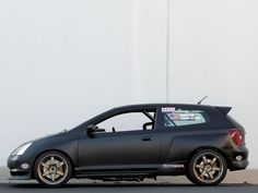 Skunk2 Honda EP3 Civic Si Left Side View Photo 3