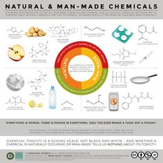 Natural vs Man Made Synthetic Chemicals Toxicity