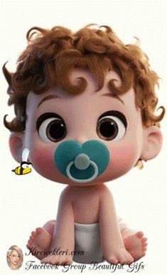Cute Cartoon Pictures, Cartoon Pics, Cute Cartoon Wallpapers, Girl Cartoon, Cartoon Drawings, Cute Drawings, Cute Baby Cartoon, Baby Cartoon Characters, Cute Characters