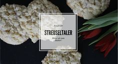 selbstgemachte Streuseltaler Party Buffet, Party Snacks, Coconut Flakes, Tea Time, Cravings, Spices, Baking, Vegetables, Desserts